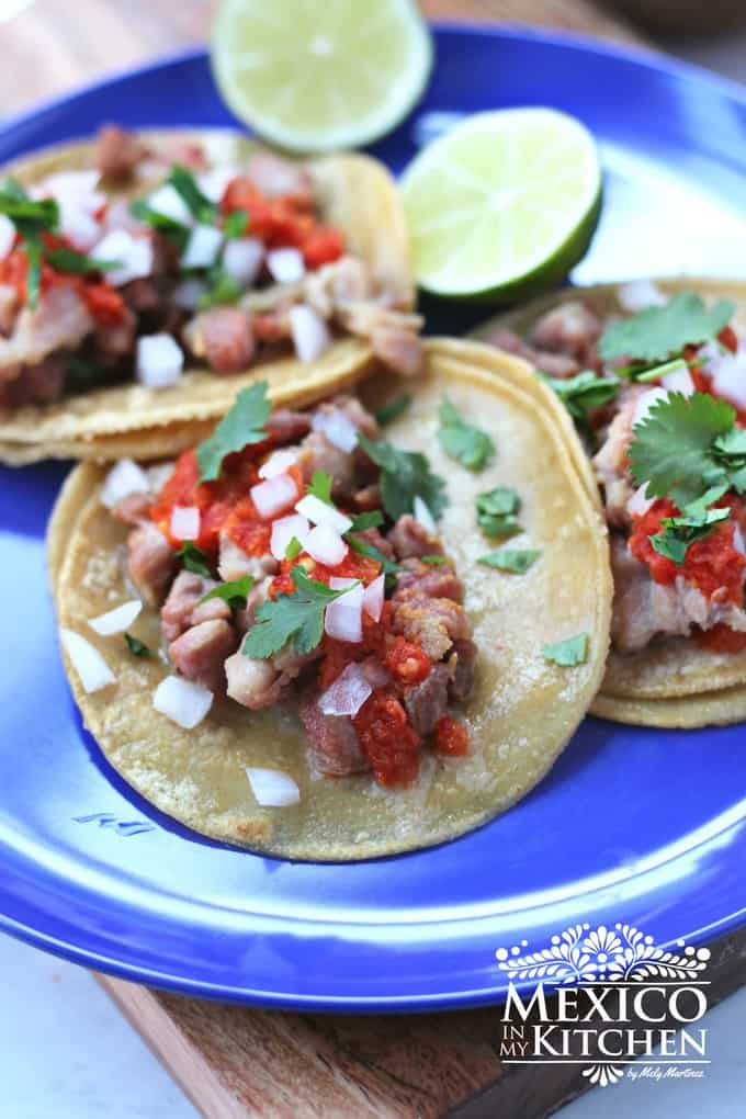 Sweetbreads recipe for tacos an easy step by step recipe.