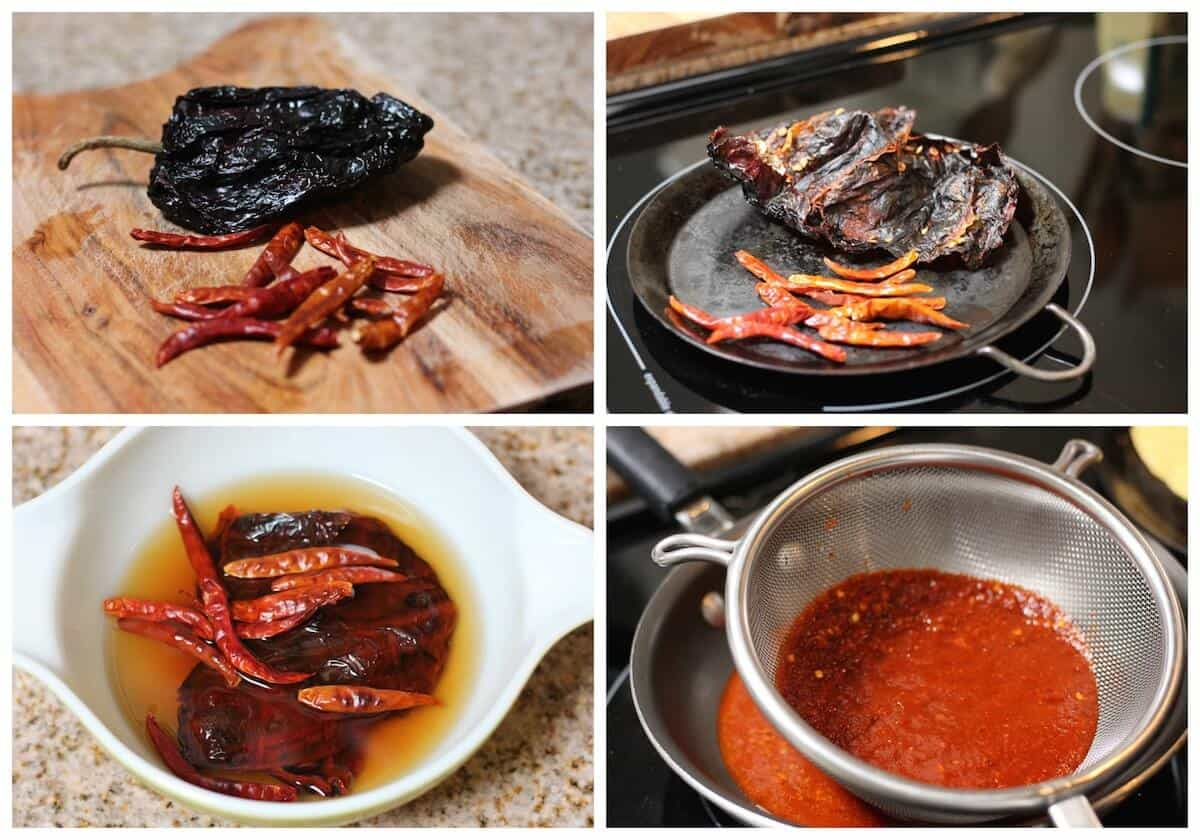 Ancho-arbol chile pepper salsa recipe mild