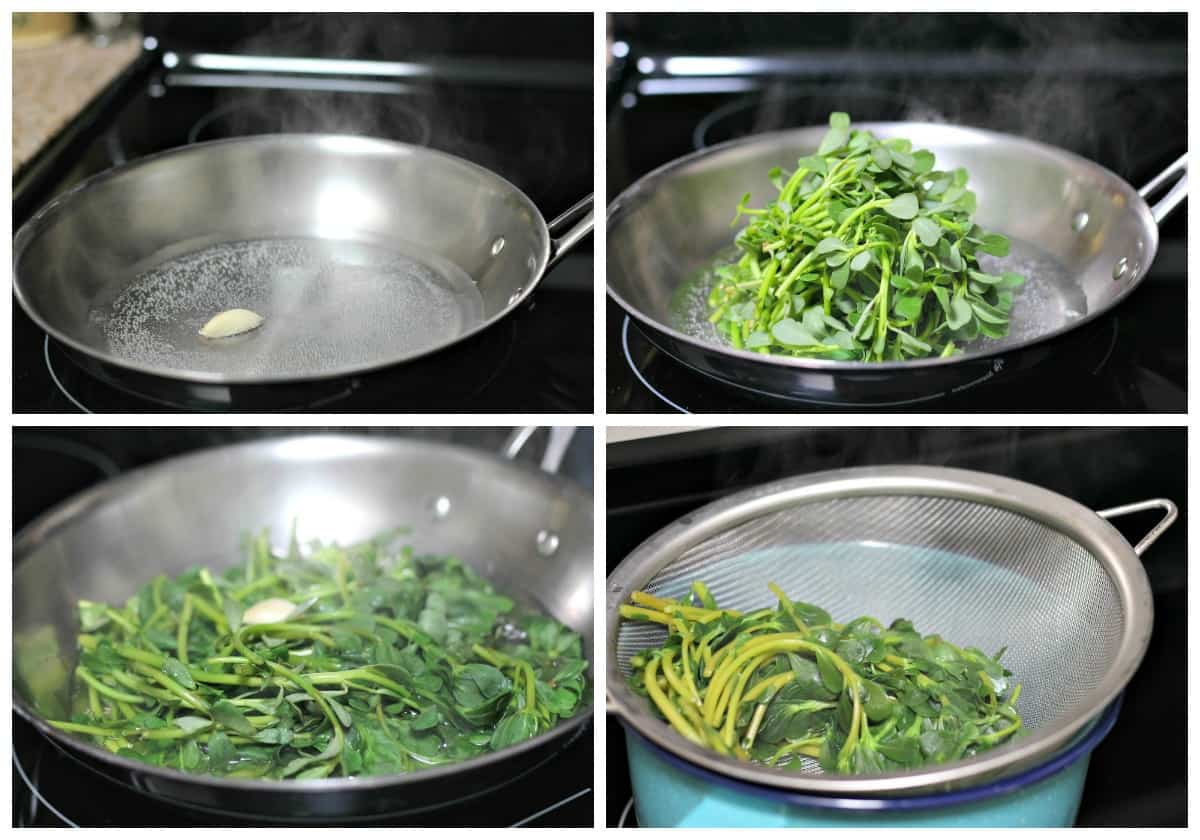 Purslane recipe - 4 Purslane benefits, how to cook and nutrition.