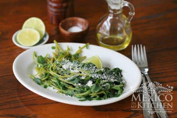 Purslane recipe