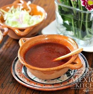 ancho-arbol chile pepper salsa recipe