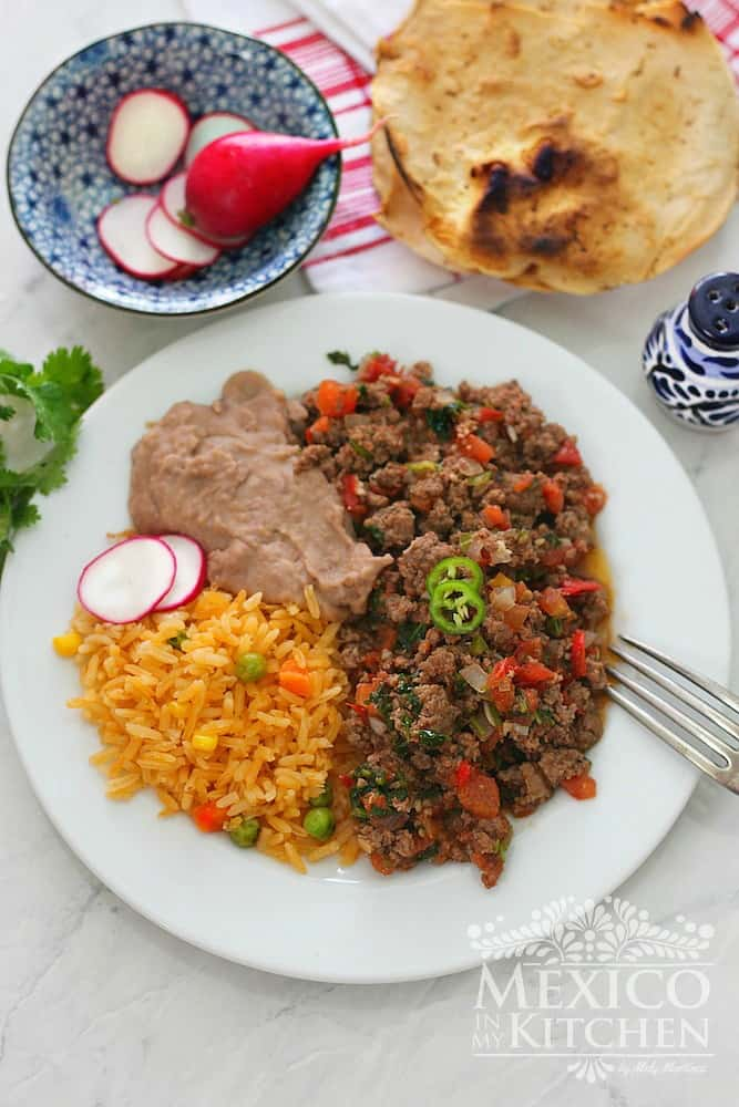 How To Make Ground Beef Recipe Authentic Mexican Recipes