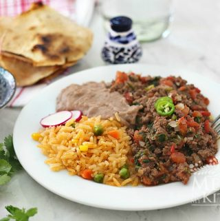Traditional homestyle mexican food recipes mexico in my kitchen easy mexican ground beef recipe forumfinder Choice Image