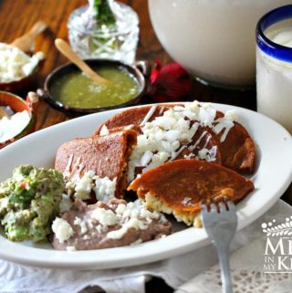 Traditional homestyle mexican food recipes mexico in my kitchen enchiladas potosinas recipe paired with klass horchata forumfinder Choice Image