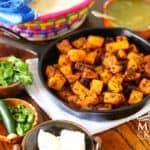 Chorizo con papas - potatoes recipe - 5