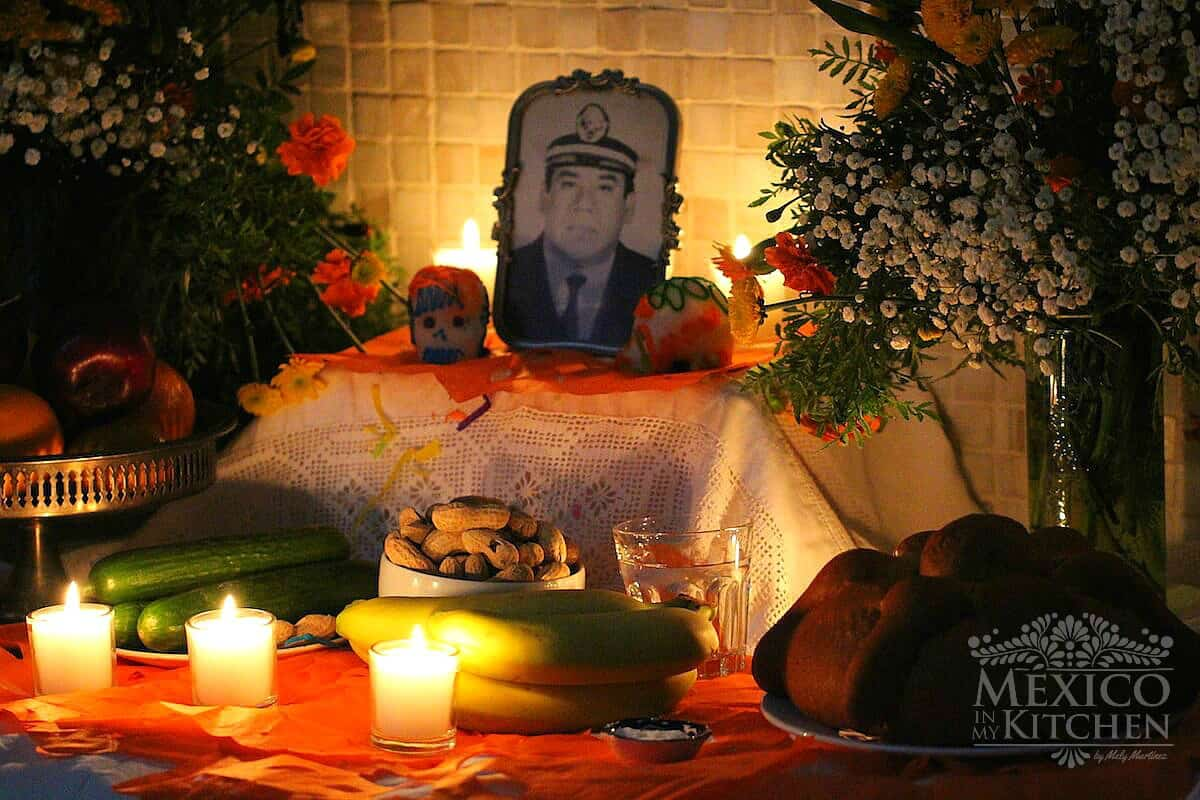 Day of the dead altar | Altar de día de muertos