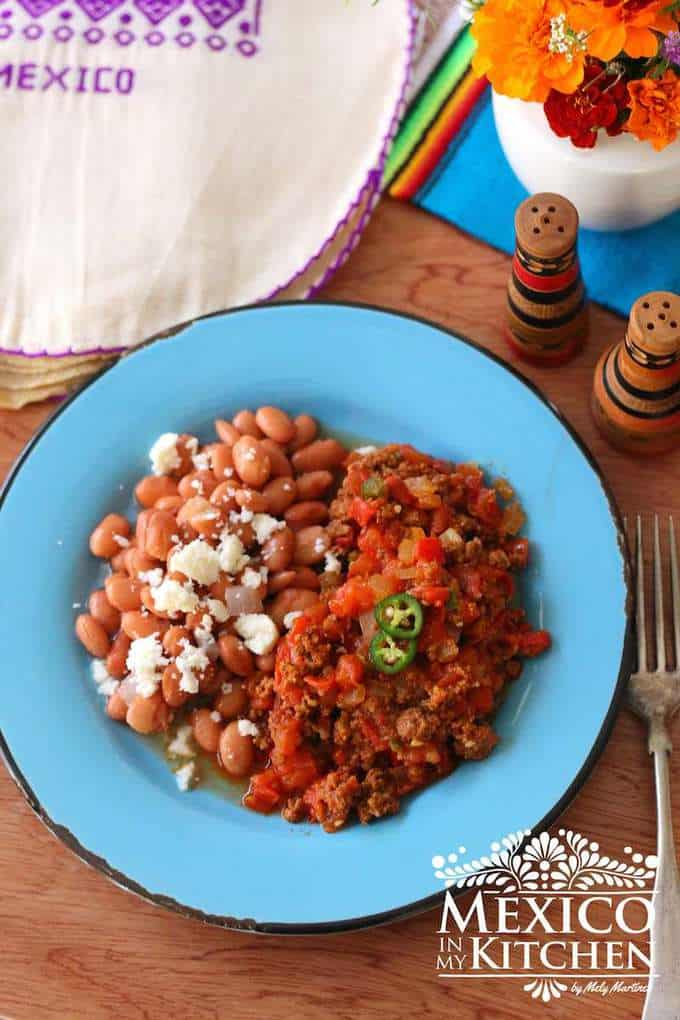 Chorizo in salsa recipe - Mexican recipes