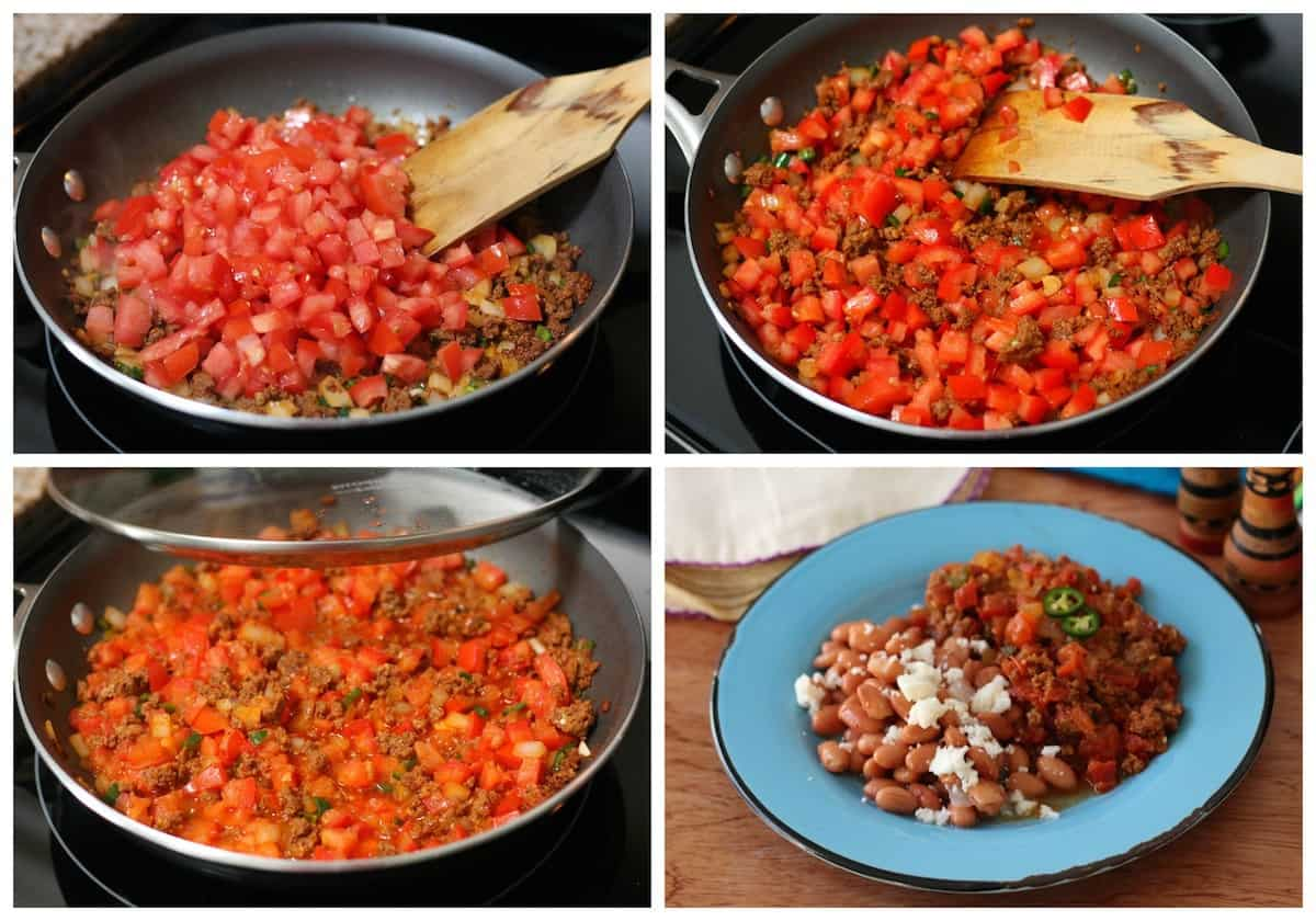 chorizo in salsa recipe | Mexican Recipes