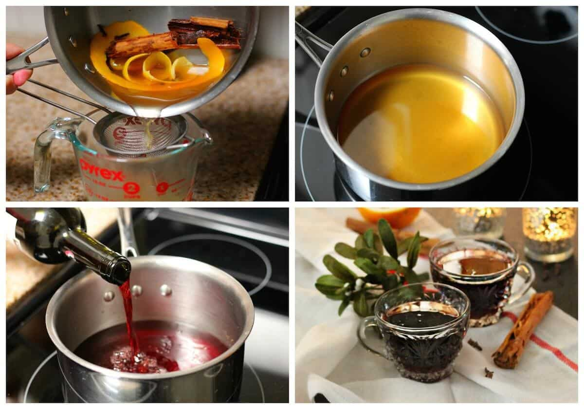 Mulled red wine recipe | christmas hot drinks 2
