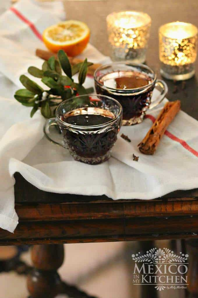 Mulled red wine recipe pinterest image