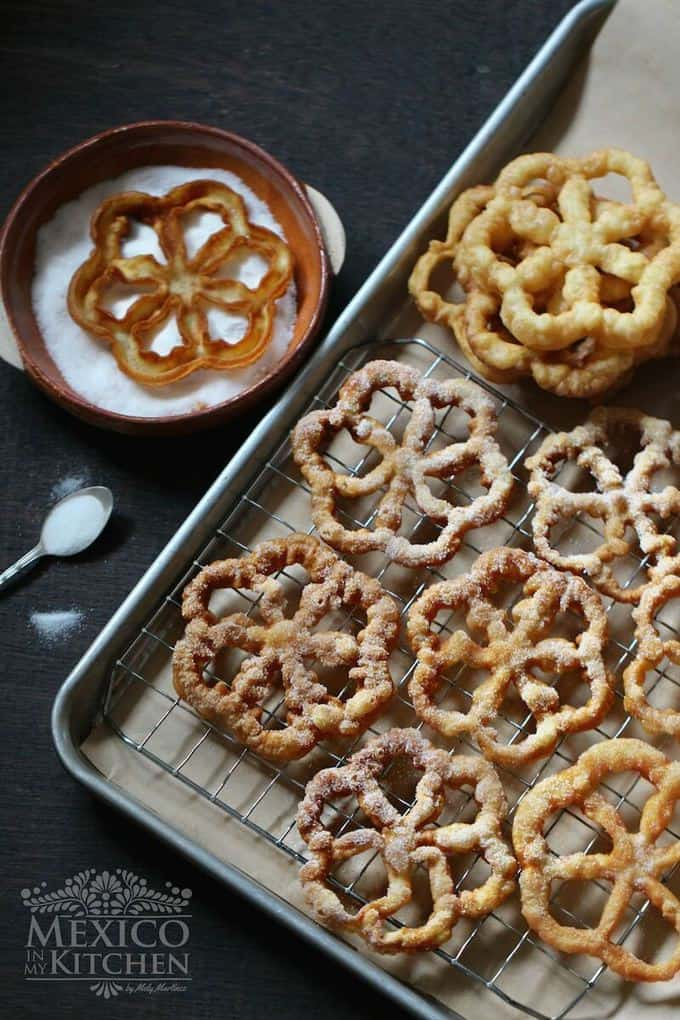 buñuelos de viento Mexican fritters recipe (6e)