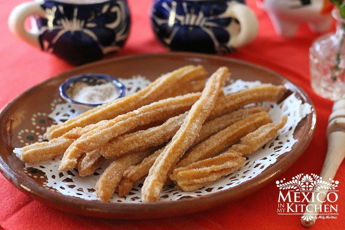 Churros Mexicanos Authentic Churros Recipe