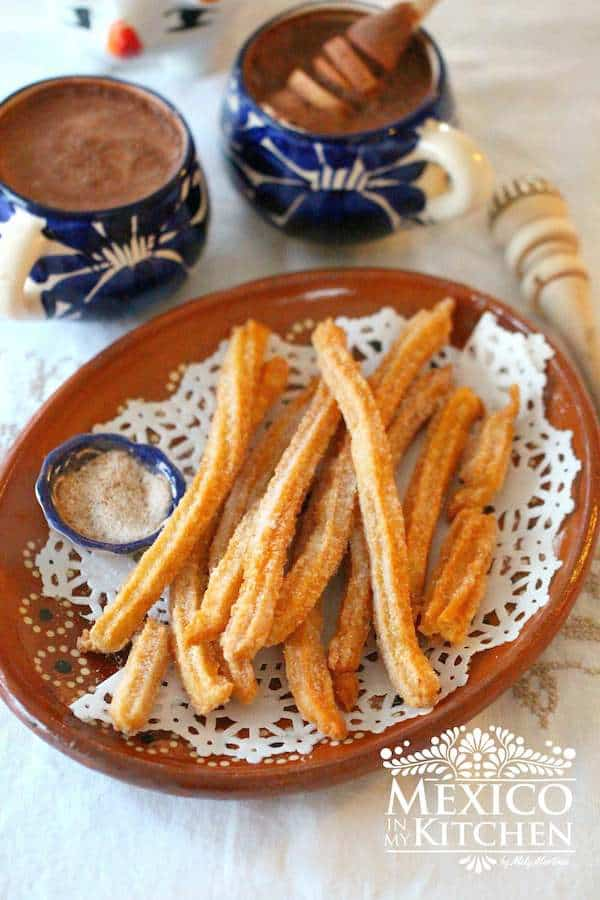 Authentic Mexican Churro recipe