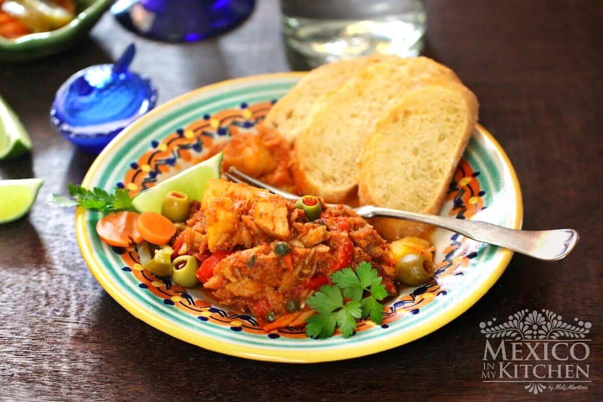Salted Cod veracruz Style recipe