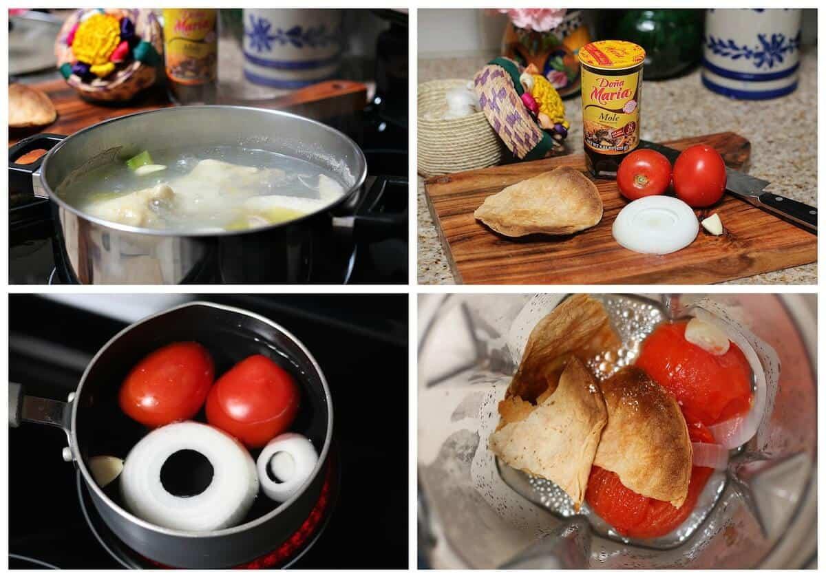 Doña Maria Mole recipe - Mexican food recipes -b