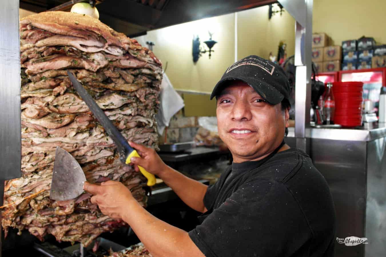Tacos arabes taqueria taquero puebla