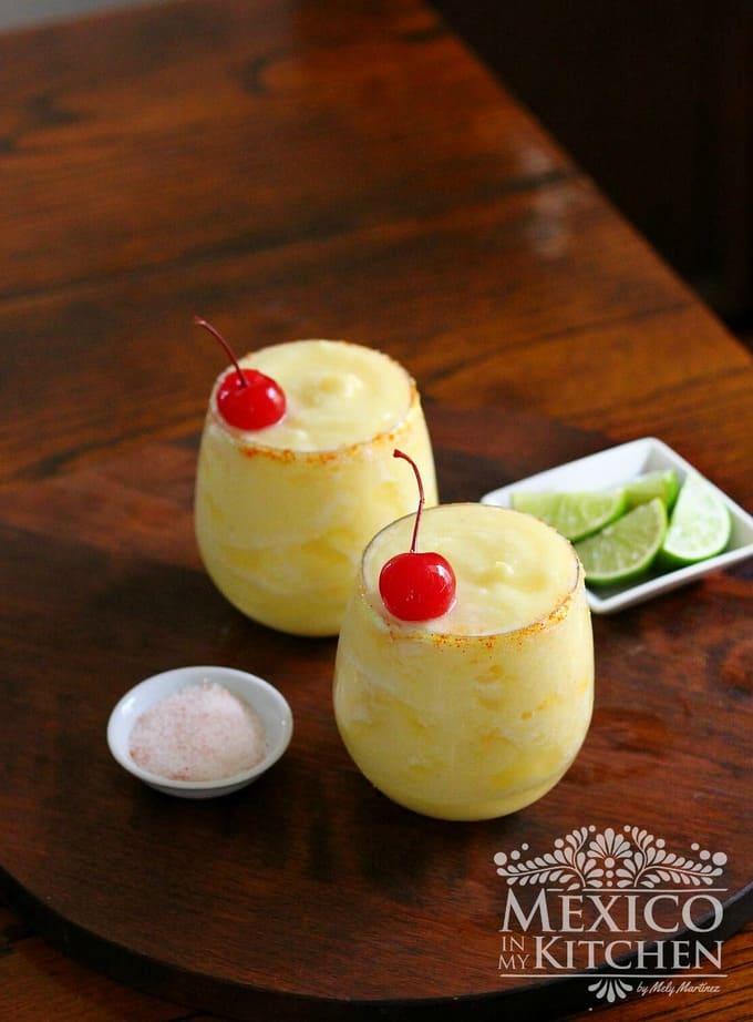 pineapple margarita recipe | Mexican food
