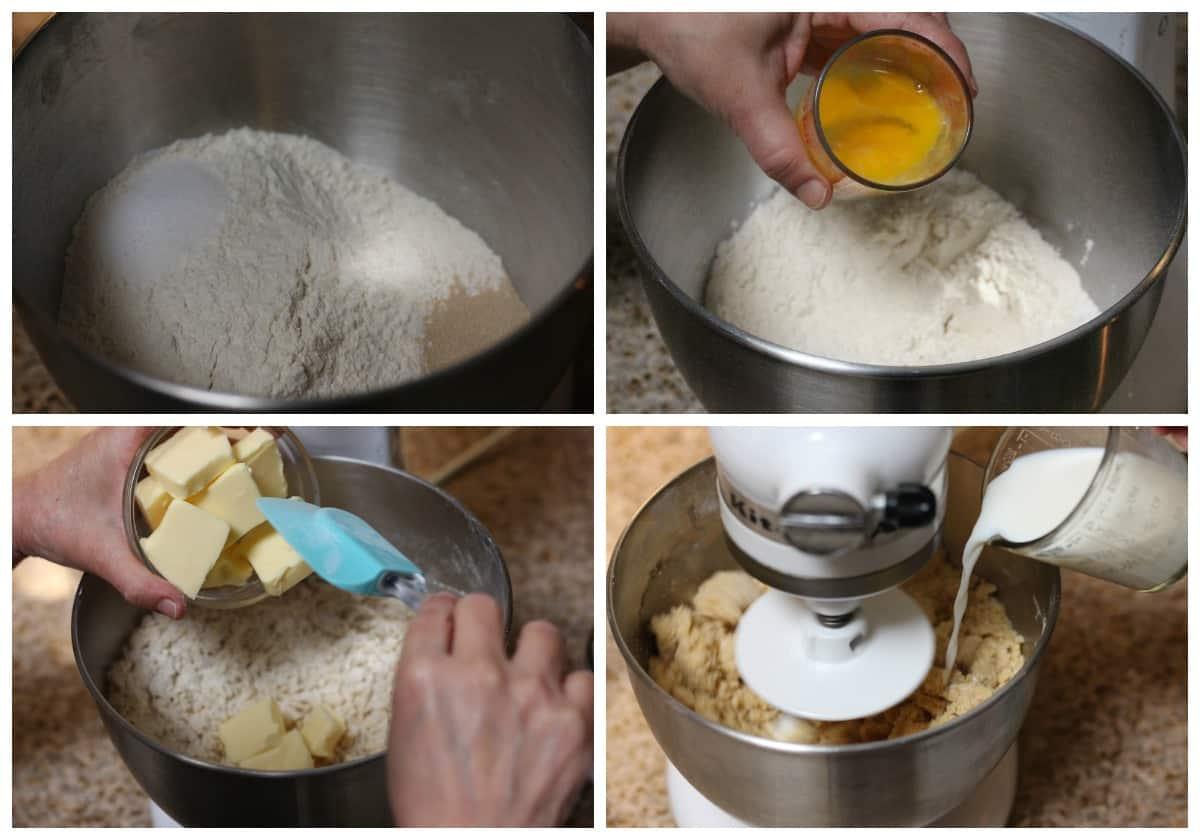 How to make pan dulce conchas recipe- 1