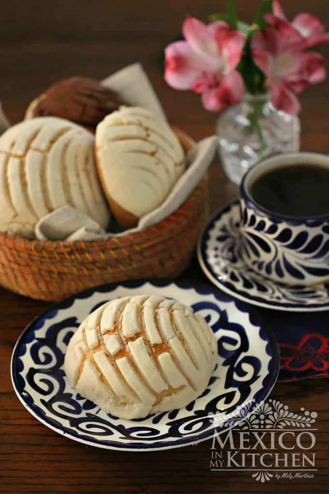 Conchas Recipe - Mexican pan dulce