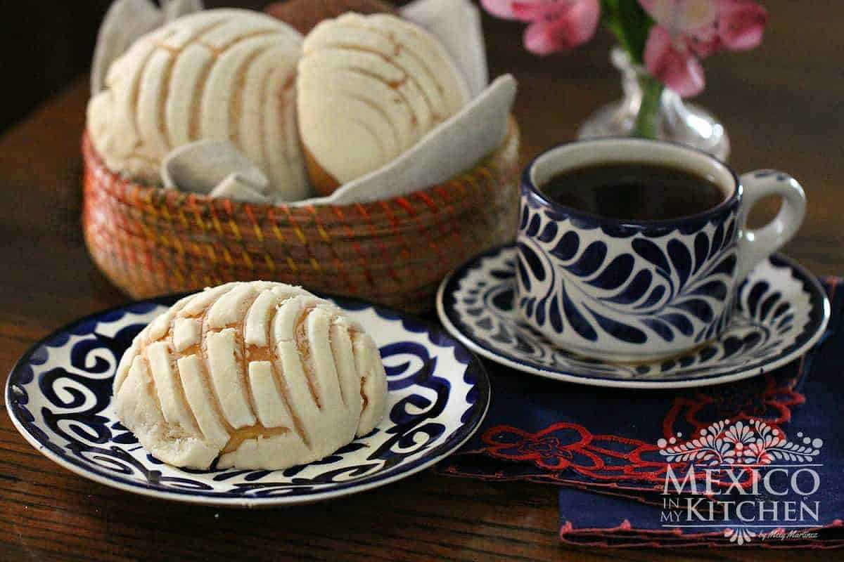 Conchas recipe - mexican pan de dulce bread - 5_4