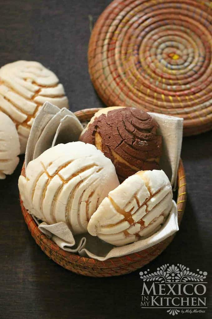 Conchas recipe pan dulce mexican -3_4