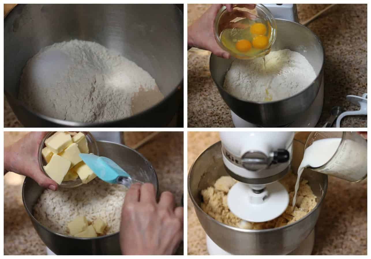 How to make pan dulce conchas recipe- 1