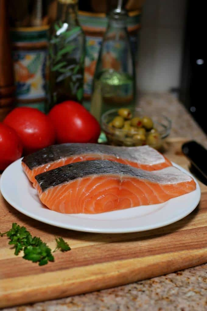 salmon fillets - 2