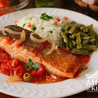 salmon with tomato sauce recipe - 2
