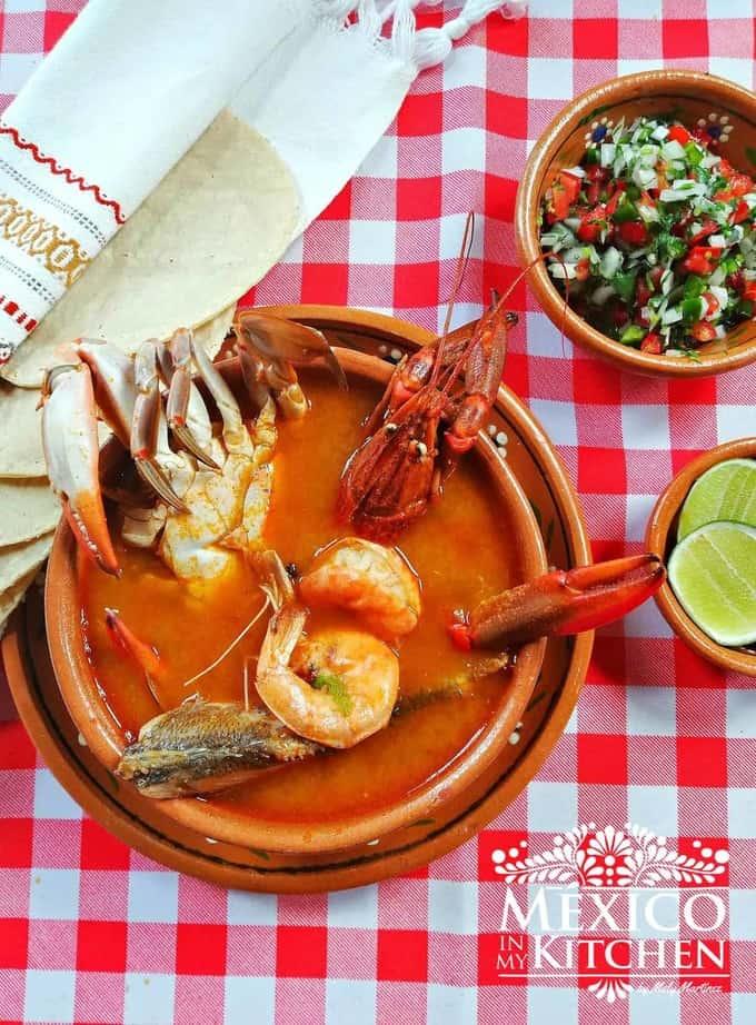seafood soup caldo de mariscos recipe - 2