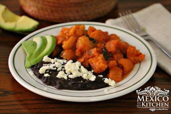 chicharron in red salsa 5