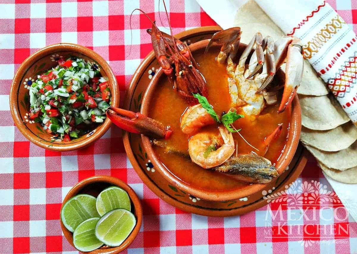 seafood soup recipe caldo de mariscos - 6