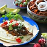 ancho pepper shredded beef for tacos