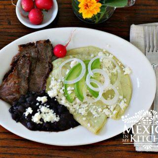 Creamy tomatillo enchiladas - 5