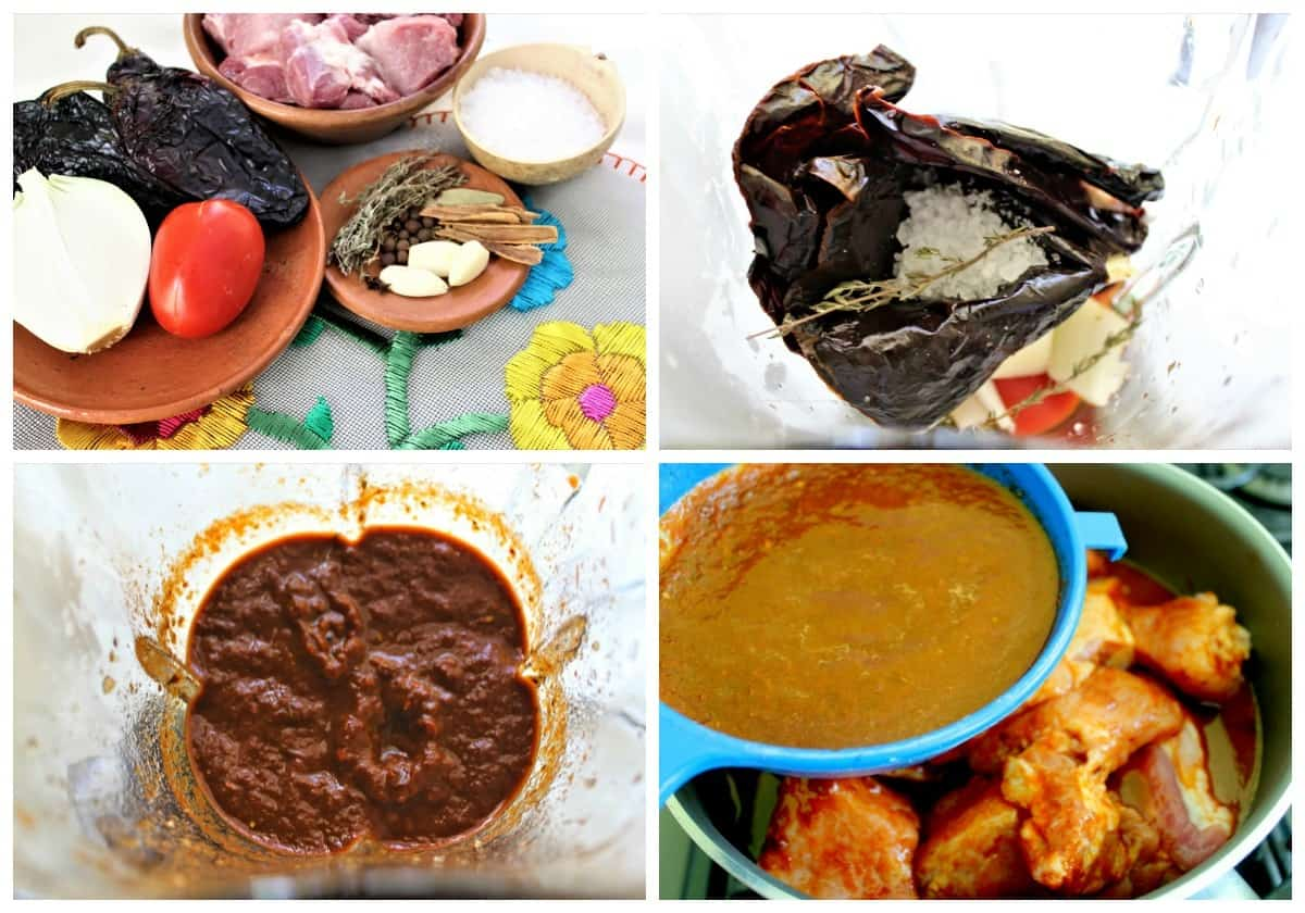 Chiapas Style roasted pork