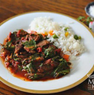 beef tomato stew recipe