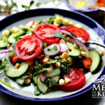 corn purslane salad