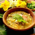 Meat & rice vegetable soup