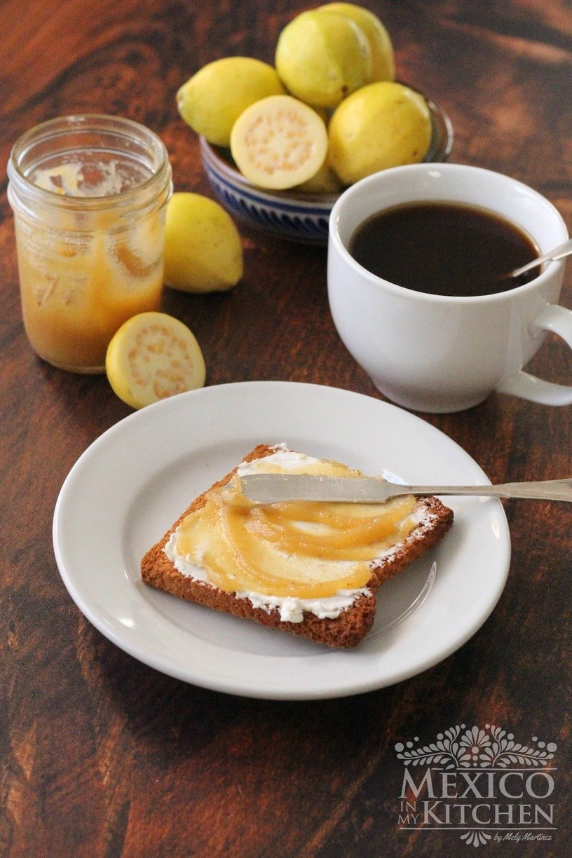 Guava jam with cream cheese