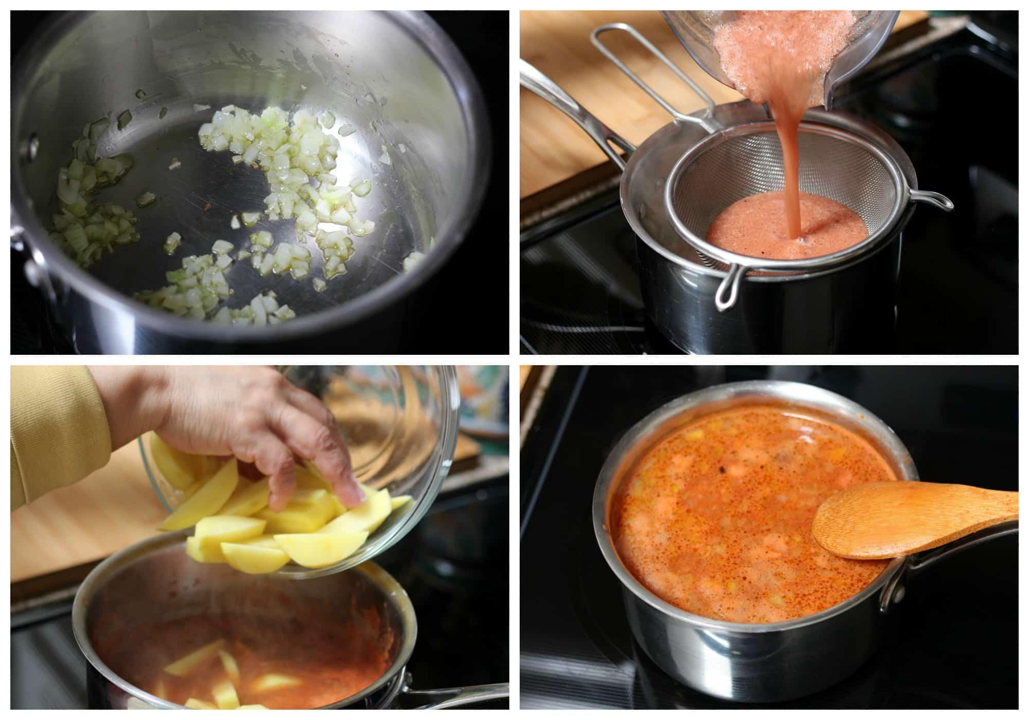 how to make potato soup -1