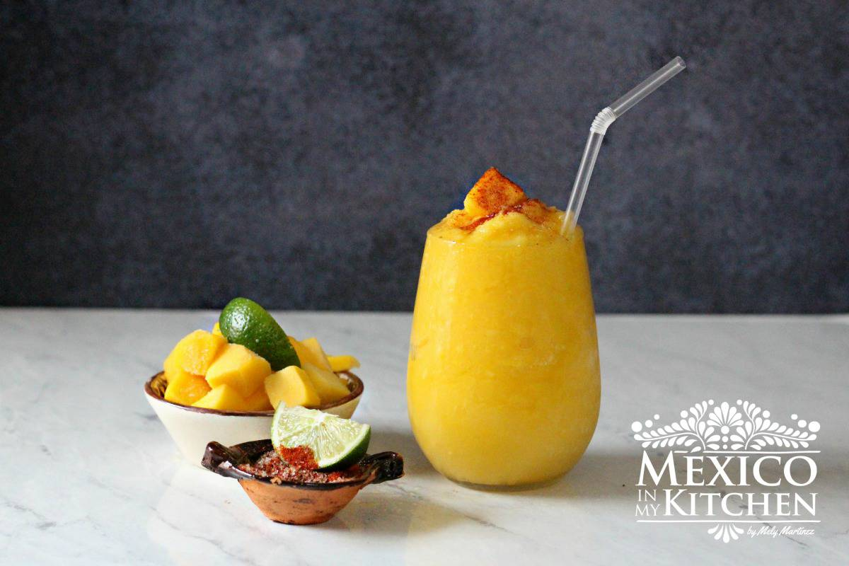 Frozen Mango Margarita cocktail recipe