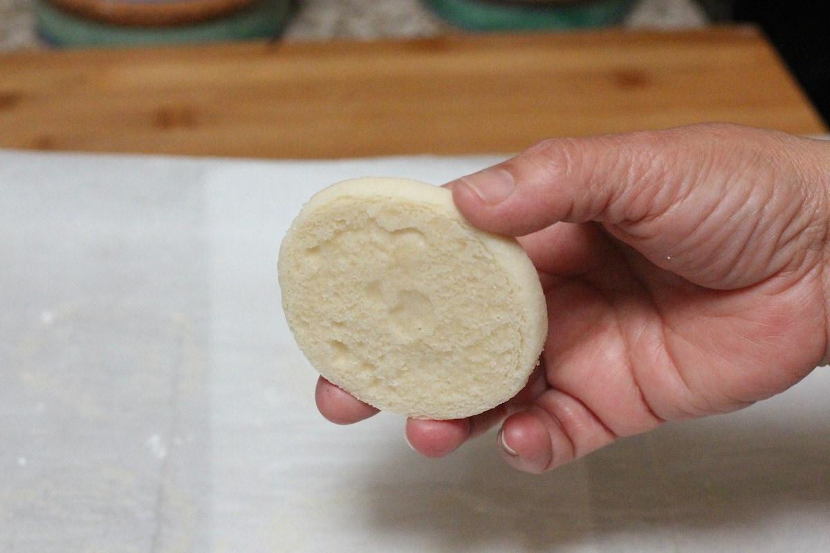 Baked polvoron