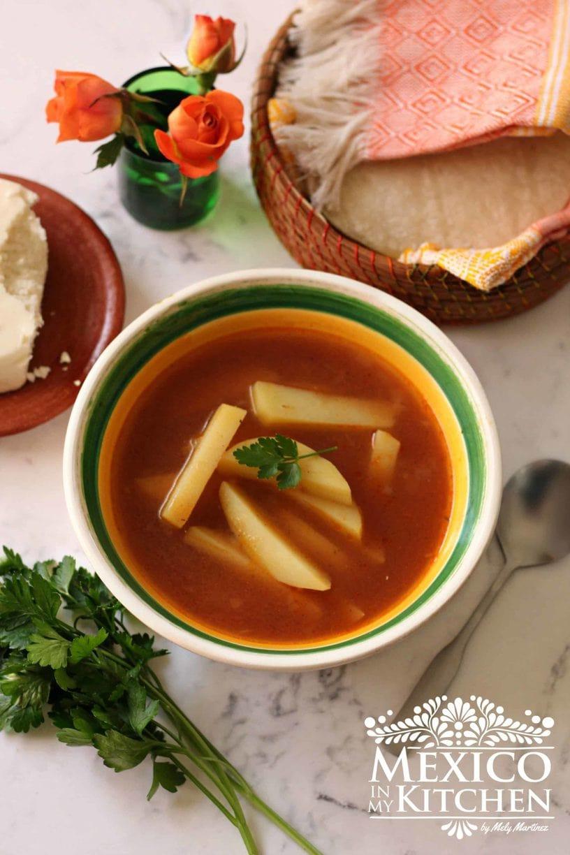 Potato Soup recipe Mexican