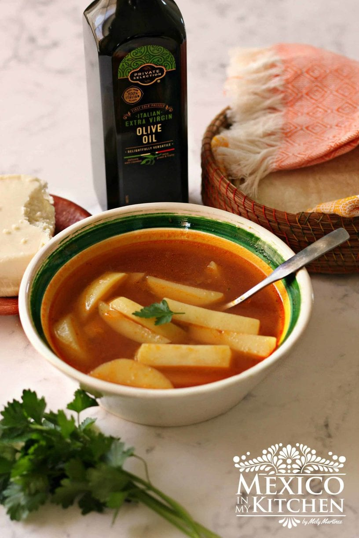 Mexican potato soup recipe