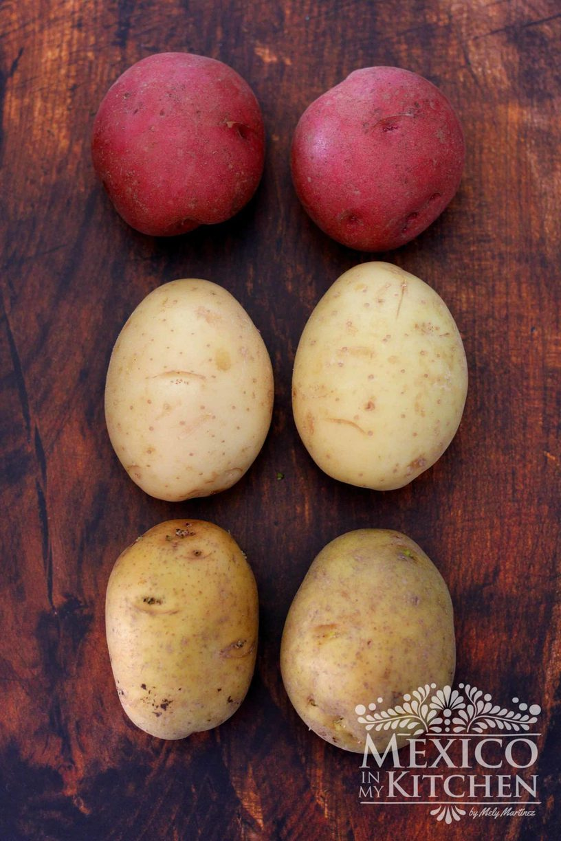 Type of Mexican potatoes