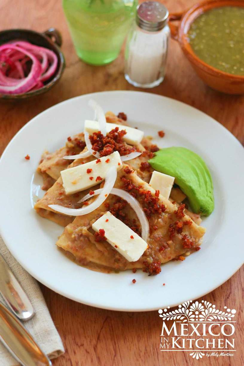 Pinto Bean Enchiladas, pantry recipes