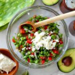 Raw nopales salad recipe
