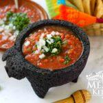 Easy Red Salsa Fresca