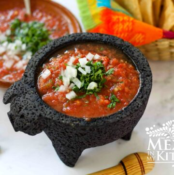Easy Red Salsa Fresca