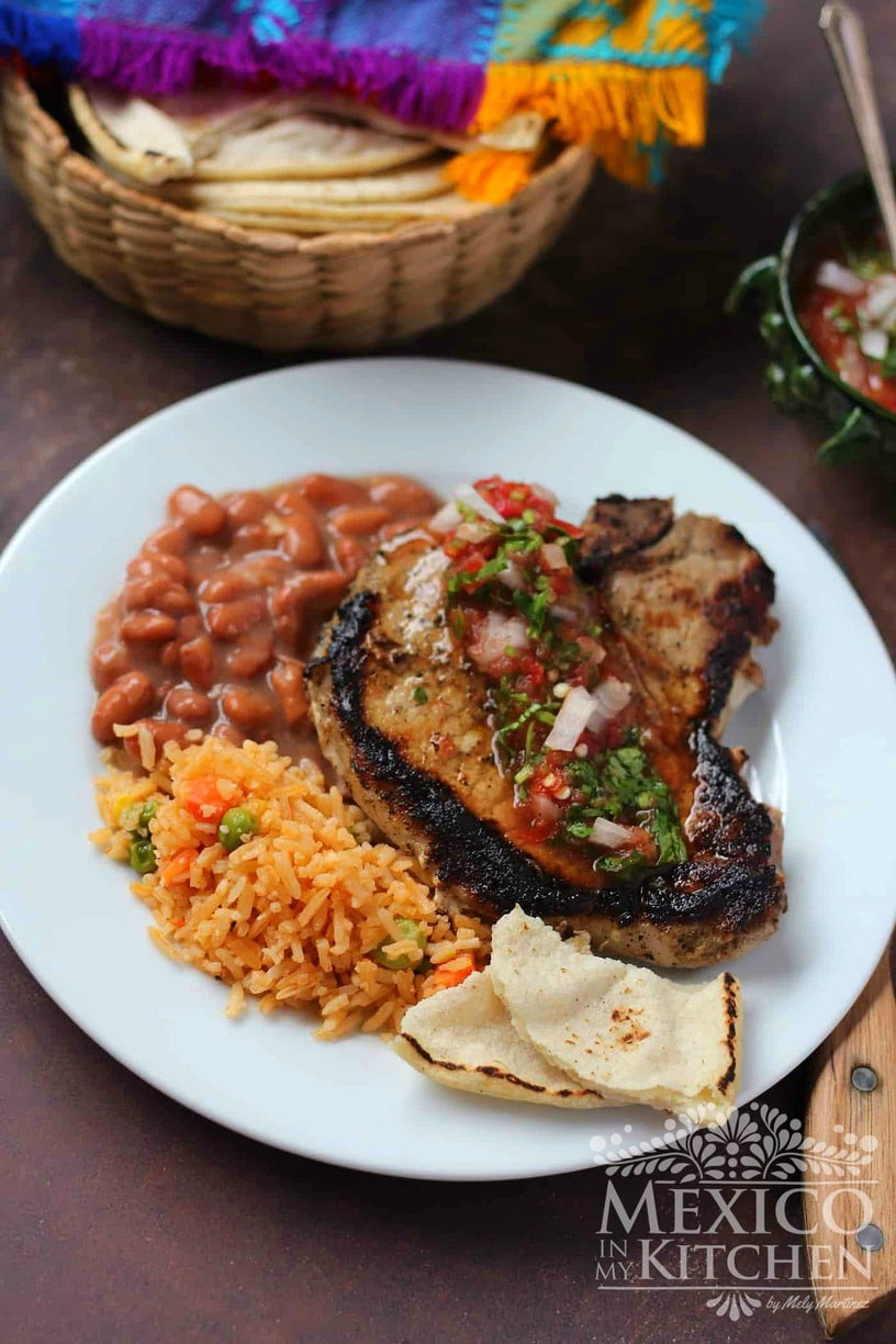 Easy seasoned pork chops
