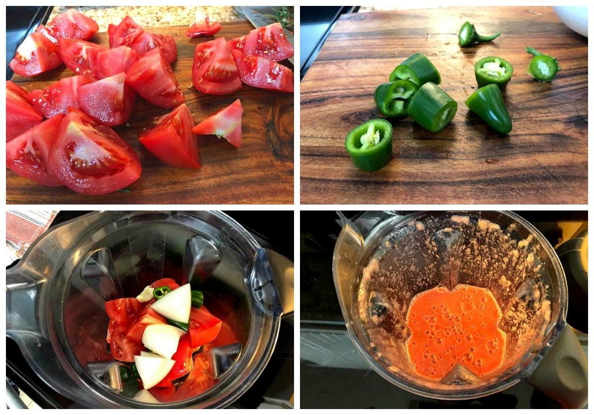 How to make salsa fresca